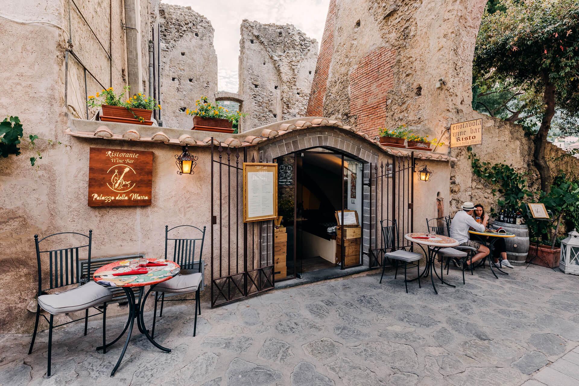 wine Bar in Ravello